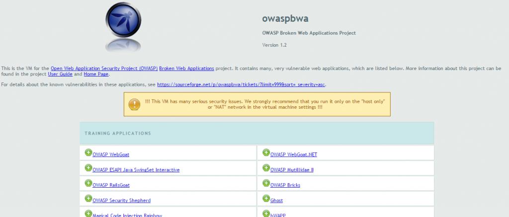 VM_OWASPBWA_Web